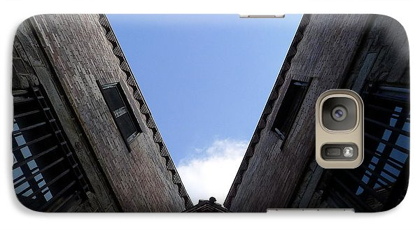 Galaxy Case featuring the photograph Mr Blue Sky by Richard Reeve