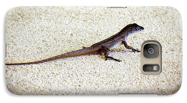 Galaxy Case featuring the photograph Mr. Gecko by Pennie  McCracken