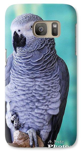 Galaxy Case featuring the digital art Mr. Grey by Al Fritz