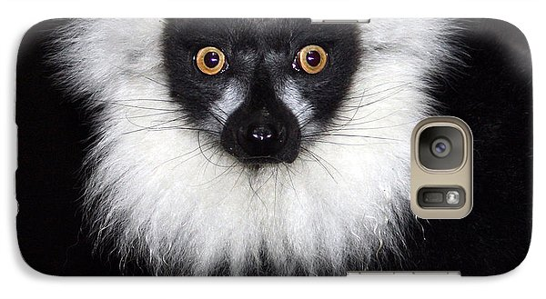 Galaxy Case featuring the photograph Mr Lemur by Terri Waters