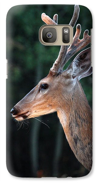 Galaxy Case featuring the photograph Mr. Majestic by Rita Kay Adams