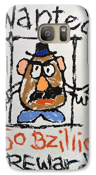 Galaxy Case featuring the photograph Mr. Potato Head Gone Bad by Robert Meanor