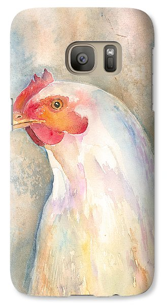 Galaxy Case featuring the painting Mrs.- In Love With Mr. by Arline Wagner