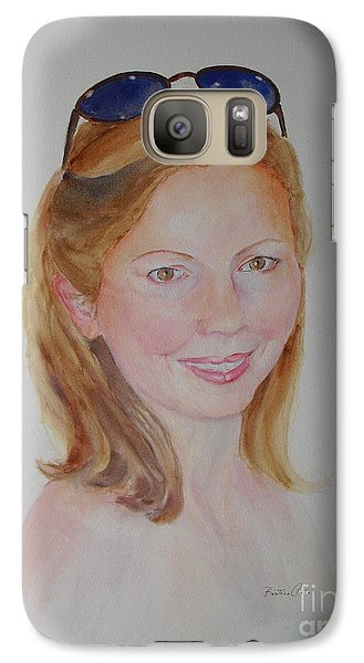 Mrs Orrell Galaxy S7 Case by Beatrice Cloake