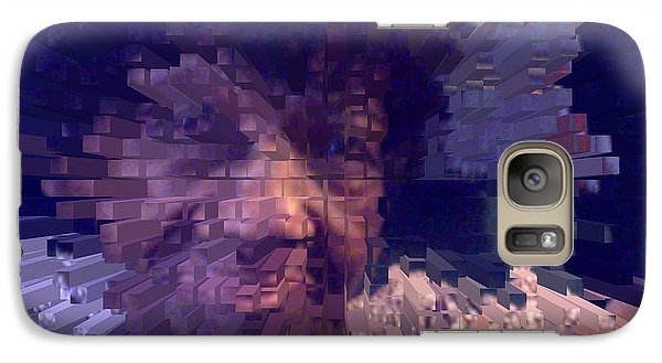 Galaxy Case featuring the digital art Ms. Virginia by Jacqueline Lloyd