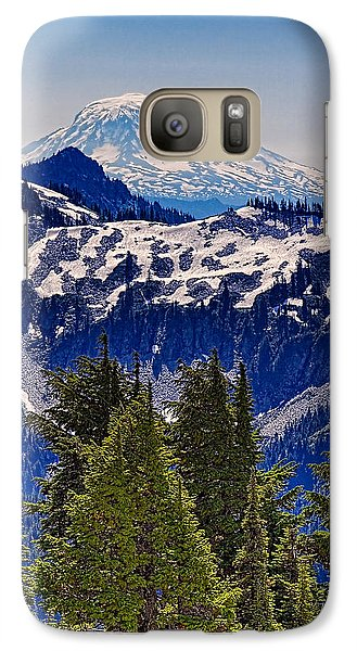 Galaxy Case featuring the photograph Mt Adams by Ken Stanback