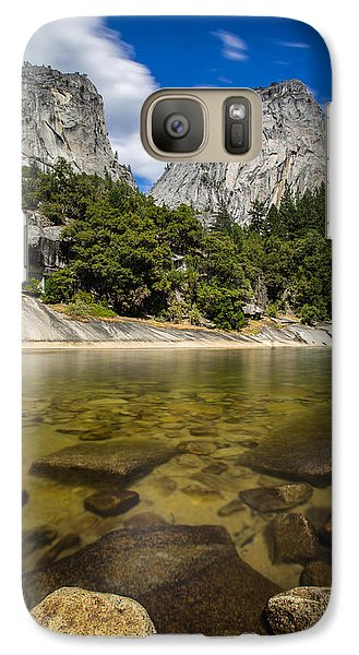 Galaxy Case featuring the photograph Mt. Broderick And Liberty Cap by Mike Lee
