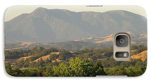 Galaxy Case featuring the photograph Mt. Cali by Shawn Marlow