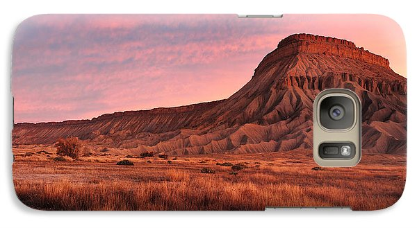 Galaxy Case featuring the photograph Mt Garfield Sunrise by Ronda Kimbrow