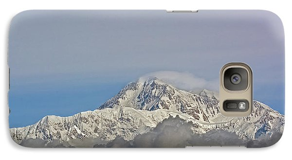 Galaxy Case featuring the photograph Mt. Mckinley View by Stephen  Johnson