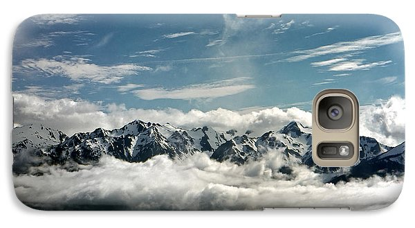 Galaxy Case featuring the photograph Mt Olympus by Greg Reed