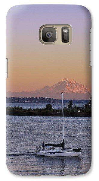 Mt. Rainier Afterglow Galaxy S7 Case