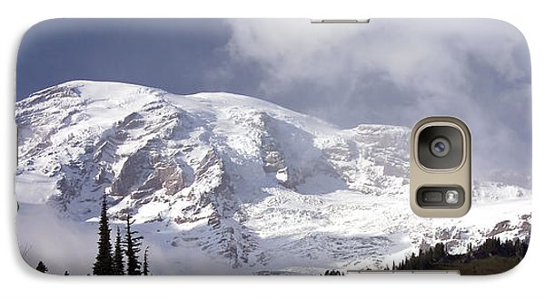 Galaxy Case featuring the photograph Mt Rainier  by Greg Reed