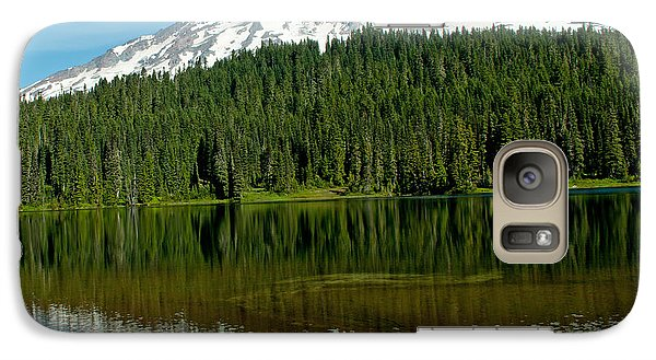 Galaxy Case featuring the photograph Mt. Rainier II by Tikvah's Hope
