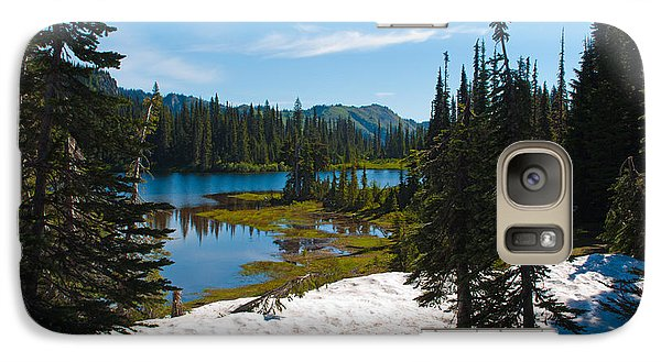 Galaxy Case featuring the photograph Mt. Rainier Wilderness by Tikvah's Hope