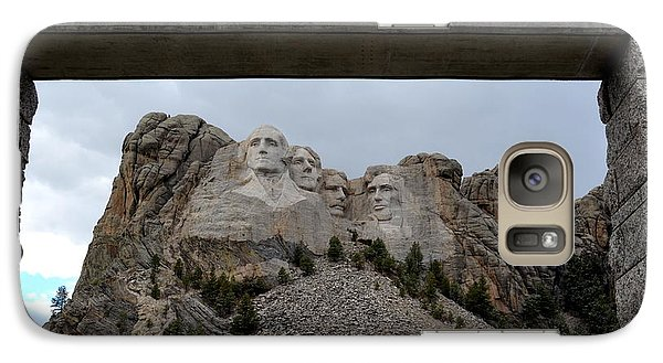 Galaxy Case featuring the photograph Mount Rushmore Grand View Terrace by Clarice  Lakota