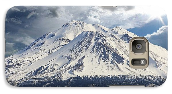 Galaxy Case featuring the photograph Mt Shasta by Athala Carole Bruckner