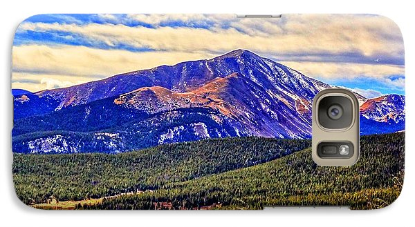 Galaxy Case featuring the photograph Mt. Silverheels II by Lanita Williams