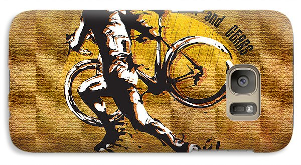 Bicycle Galaxy S7 Case - Mud Sweat And Gears by Sassan Filsoof