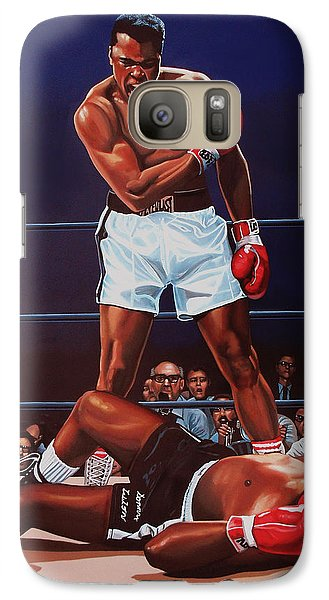 Muhammad Ali Versus Sonny Liston Galaxy S7 Case