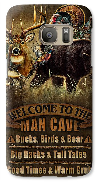 Turkey Galaxy S7 Case - Multi Specie Man Cave by JQ Licensing