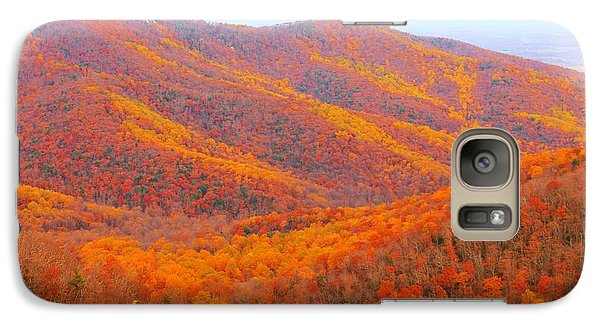 Galaxy Case featuring the photograph Multicolored Mountaintop by Candice Trimble