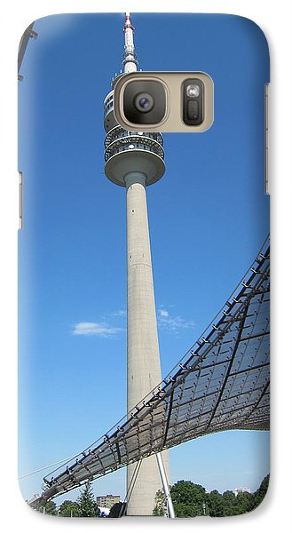 Galaxy Case featuring the photograph Munich Olympic Tower by Pema Hou