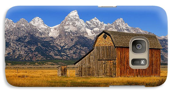 Galaxy Case featuring the photograph Murphy Barn by Greg Norrell
