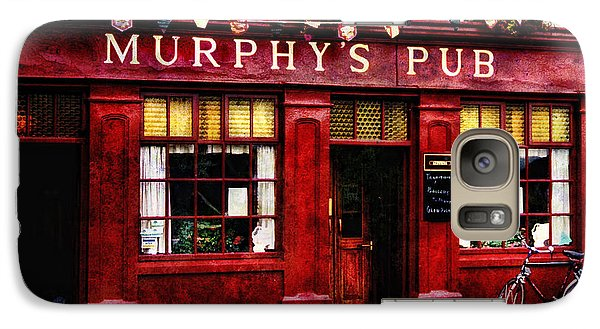 Galaxy Case featuring the photograph Murphy's Pub by Brian Tarr
