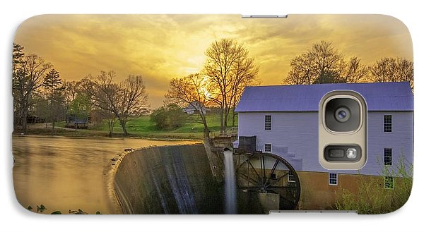 Galaxy Case featuring the photograph Murrays Mill by Marion Johnson