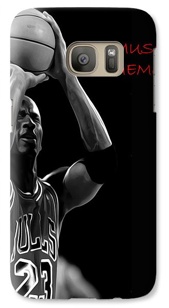 Galaxy Case featuring the painting Muscle Memory by Brian Reaves