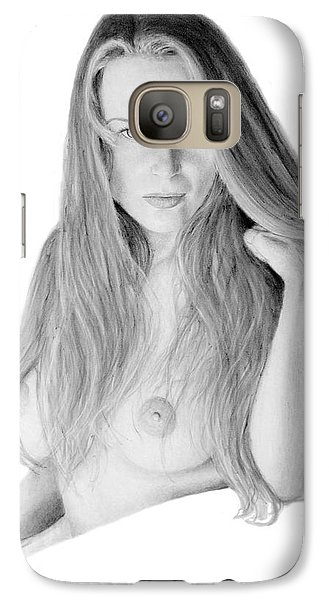 Galaxy Case featuring the pastel Muse by Joseph Ogle