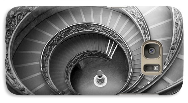 Galaxy Case featuring the photograph Musei Vaticani Stairs by Nathan Rupert
