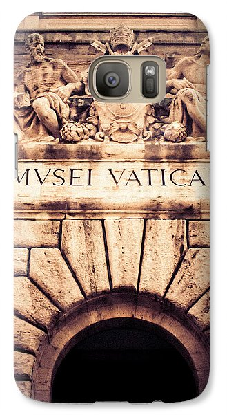 Galaxy Case featuring the photograph Musei Vaticani Uscita by Rob Tullis