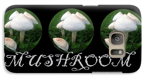 Galaxy Case featuring the photograph Mushroom Art Collection 2 By Saribelle Rodriguez by Saribelle Rodriguez