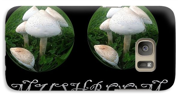 Galaxy Case featuring the photograph Mushroom Art Collection 3 By Saribelle Rodriguez by Saribelle Rodriguez