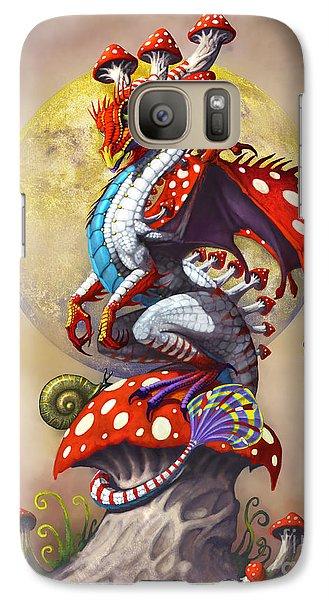 Fantasy Galaxy S7 Case - Mushroom Dragon by Stanley Morrison