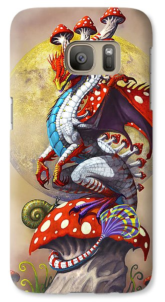 Fantasy Galaxy S7 Case - Mushroom Dragon by Stanley Morrison