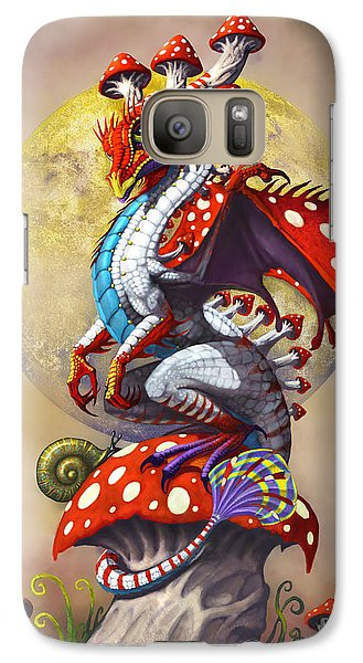 Mushroom Dragon Galaxy S7 Case by Stanley Morrison
