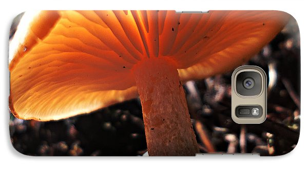 Galaxy Case featuring the photograph Mushroom by Janice Westerberg