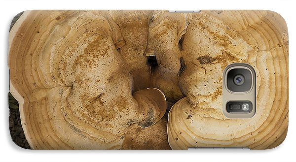Galaxy Case featuring the photograph Mushroom Sculpture by Wanda Brandon