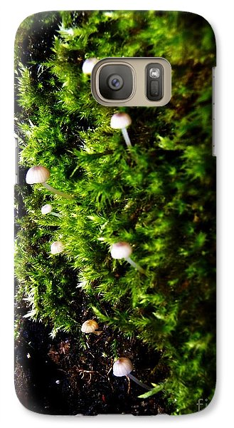 Galaxy Case featuring the photograph Mushrooms by Vanessa Palomino