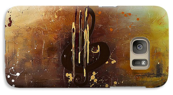 Trombone Galaxy S7 Case - Music All Around Us by Carmen Guedez