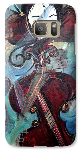 Galaxy Case featuring the painting Music Of My Life by Dorothy Maier