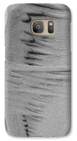 Galaxy Case featuring the photograph Music Of Sand by Yulia Kazansky