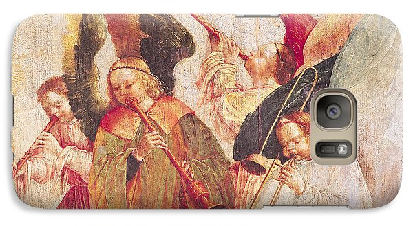 Trombone Galaxy S7 Case - Musical Angels, Detail From The Assumption Of The Virgin by Taborda Vlame Frey Carlos
