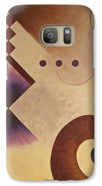 Galaxy Case featuring the painting Musical Journey I by Teri Atkins Brown