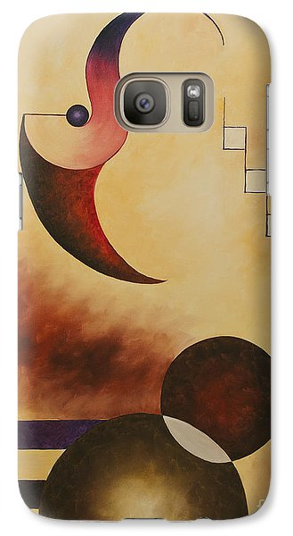 Galaxy Case featuring the painting Musical Journey IIi by Teri Atkins Brown
