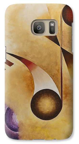 Galaxy Case featuring the painting Musical Journey Iv by Teri Atkins Brown
