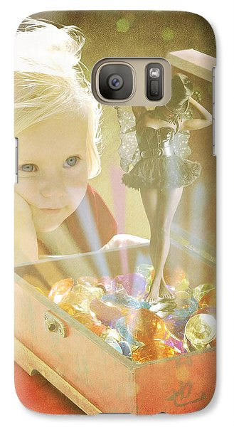 Musicbox Magic Galaxy S7 Case by Linda Lees
